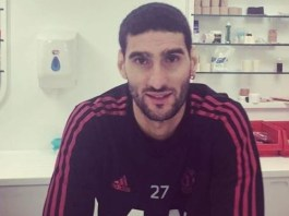 Marouane Fellaini has tested positive for coronavirus