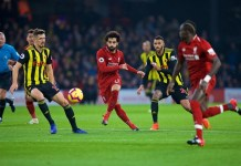 Mohamed Salah inspired 10-man Liverpool to victory against Watford