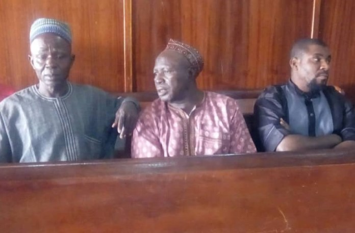 Mohammed Sani Agae, Isa Alhaji Chado and Jonah Ihie were also arraigned before Justice Aisha Bwari of the Niger State High Court, Minna