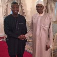 FILE: Pastor E. A. Adeboye and President Muhammadu Buhari during a visit by the former to Aso Villa