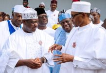 President Muhammadu Buhari hosted APC senators-elect and governors