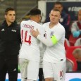 Wayne Rooney repleaced Jesse Lingard as he made his final international appearance for England