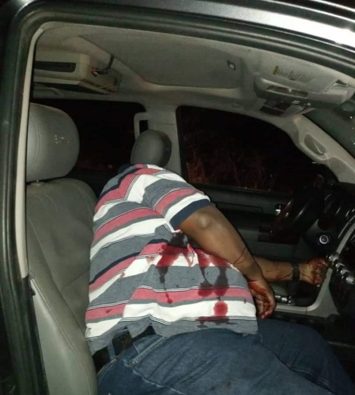 Alex Badeh assassinated in his car as he was going to his farm