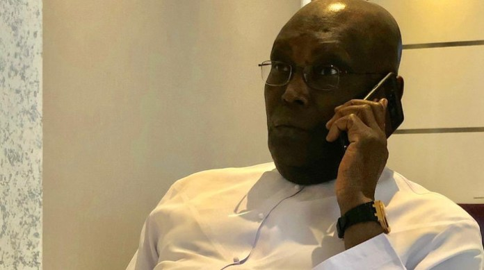 Atiku Abubakar on the purported phone call with Seun Sakaba