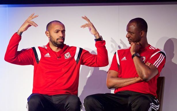Former Arsenal teammates Thierry Henry and Patrick Vieira face off in Ligue 1 for first time as managers