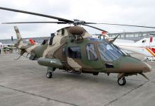Italy will deliver six Augusta 109 Power Helicopter gunship to Nigerian Air Force as fight against Boko Haram intensifies