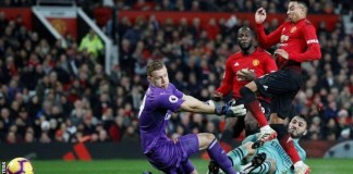 Arsenal and Manchester United drew 2-2 when they met in the Premier League in December 2018