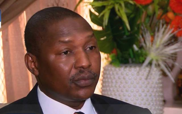 Minister for Justice and Attorney-General Abubakar Malami