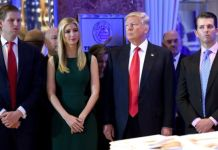 Trump and his three eldest children Donald Jr, Ivanka and Eric are accused of using it for private and political gain
