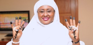 First Lady Aisha Buhari is celebrating her 49th birthday