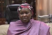 Amina Zakari has denied that she is related to President Muhammadu Buhari