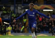Callum Hudson-Odoi scored his first Premier League goal of the season