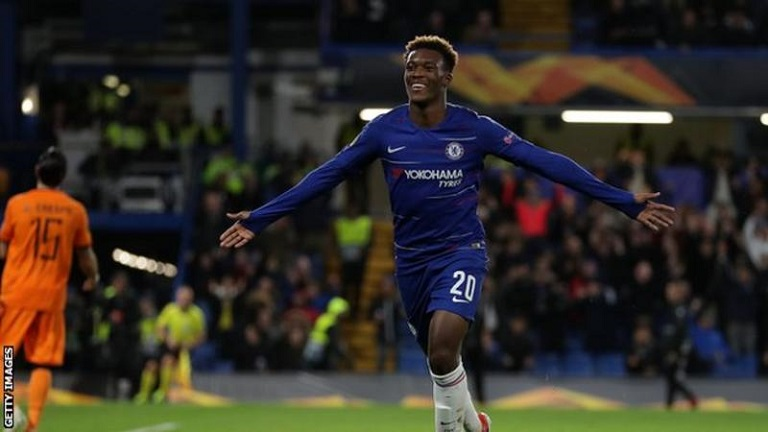 Callum Hudson-Odoi can be one of Europe's finest players says Maurizio Sarri