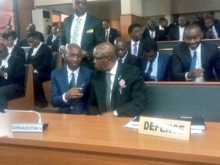 Chief Wole Olanipekun (SAN) led 45 SANs to defend CJN Walter Onnoghen at the CCT