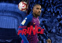 Kevin-Prince Boateng has joined Barcelona from Sassuolo on loan