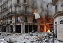 Paris explosion has had people fleeing for their lives