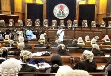The National Judicial Council could recommend Justice Olabode Rhodes-Vivour