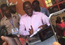 Comrade Adams Oshiomhole delivered his polling unit 100 percent