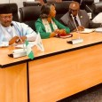 INEC chairman Mahmood Yakubu and other national commissioners