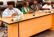 INEC chairman Mahmood Yakubu and other national commissioners