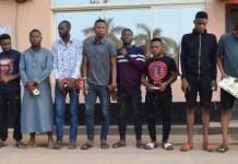 Internet fraudsters arrested by anti-graft agency EFCC