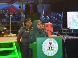 First Lady Aisha Buhari calls for stay at home as coronavirus spreads