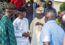 Asiwaju Bola Tinubu has described Vice President Yemi Osinbajo as a worthy ally