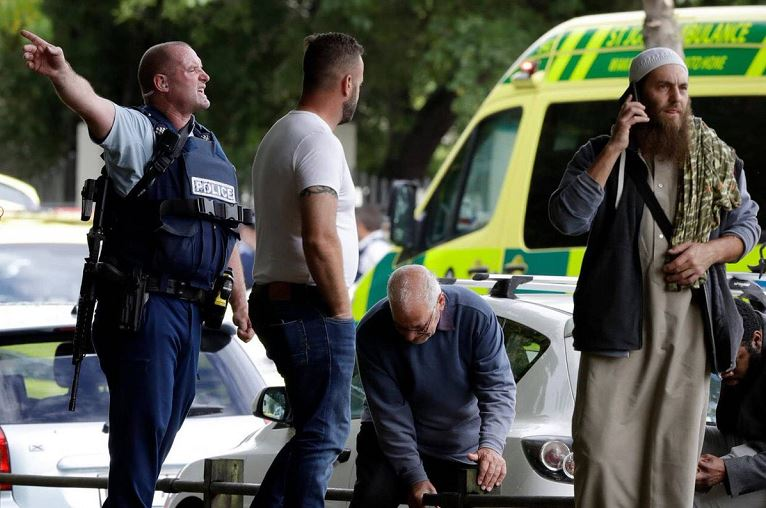 At least 40 persons have been killed in two mosques attack in New Zealand