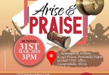 Bisola Bisuga, John Donald, FCT Province 6 Mass Choir, others for RCCG praise night