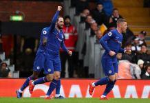 Gonzalo Higuain put Chelsea ahead at Craven Cottage