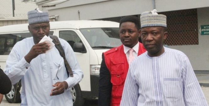 Muhammad Dele Belgore is standing trial for N450m fraud