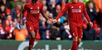 Roberto Firmino and Sadio Mane both scored twice as Liverpool beat Burnley 4-1