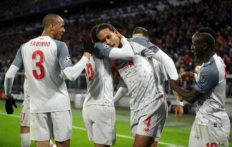 Virgil van Dijk scored his fourth club goal of the season in the 69th minute