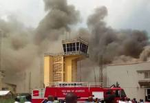 Fire Outbreak at Imo Airport