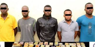 Five Nigerians arrested in Dubai for robbery