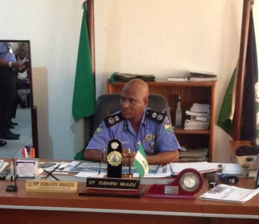 Lagos State Police Commissioner, Zubairu Muazu
