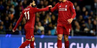 Mohamed Salah and Virgil van Dijk both scored for Liverpool