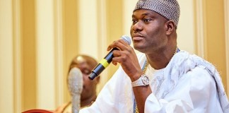 Ooni of Ife, Oba Adeyeye Ogunwusi has shut his palace to curb the spread of coronavirus