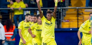 Of the Nigerian players playing in Europe top 5 leagues, only Alex Iwobi (10) has been involved in more goals in all club competitions than Samuel Chukwueze