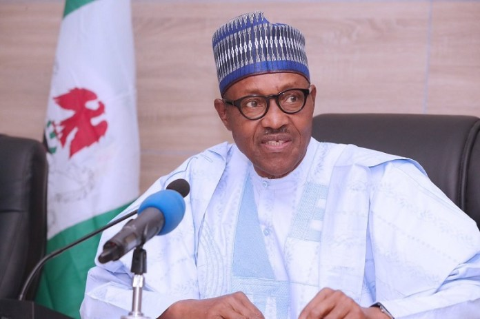 President Muhammadu Buhari addresses muslims