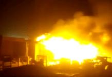 Fire razes shops in Edo Ekiosa market