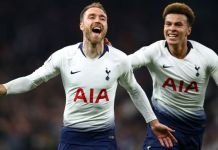 Christian Eriksen scored late to give Spurs the win