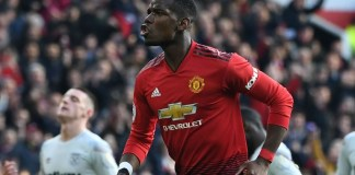Paul Pogba was included in the PFA Team of the Year