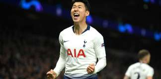 Son Heung-min scored the only goal of the game to give Spurs advantage