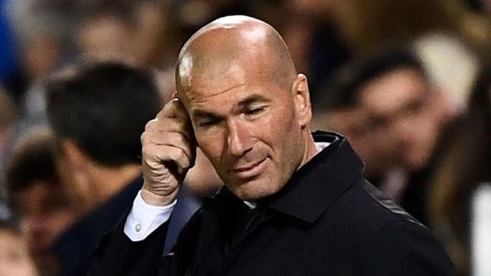 Zinedane Zidane Real Madrid Head Coach