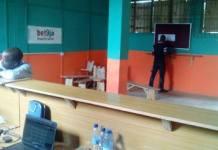 A Bet9ja gambling centre