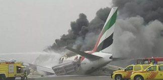 Dubai Airplane Crash