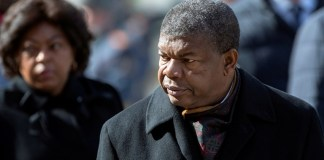 Angola President Joao Lourenco
