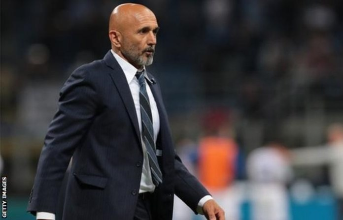 Luciano Spalletti led Inter Milan into the Champions League for first time in six years
