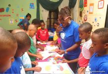 Madame Olieh Connect provided kids with opportunity to try their hands on art and designs